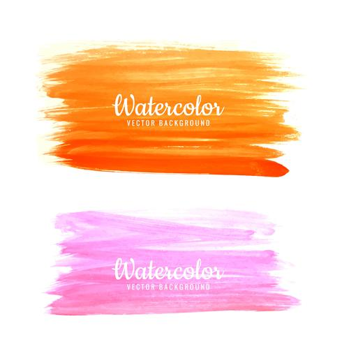 Hand drawn watercolor colorful background of pastel natural deli