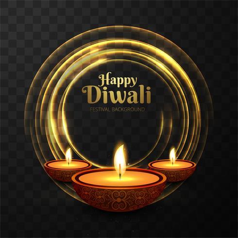 Fondo hermoso brillante abstracto del diwali