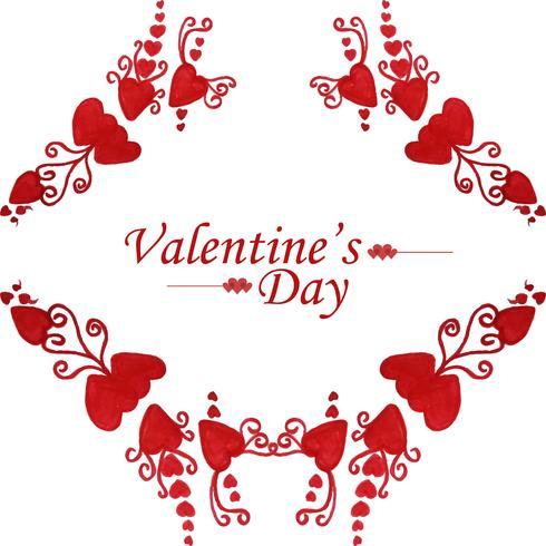 Beautiful Valentine's day card design