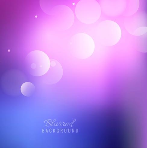 Elegant colorful blurred background design
