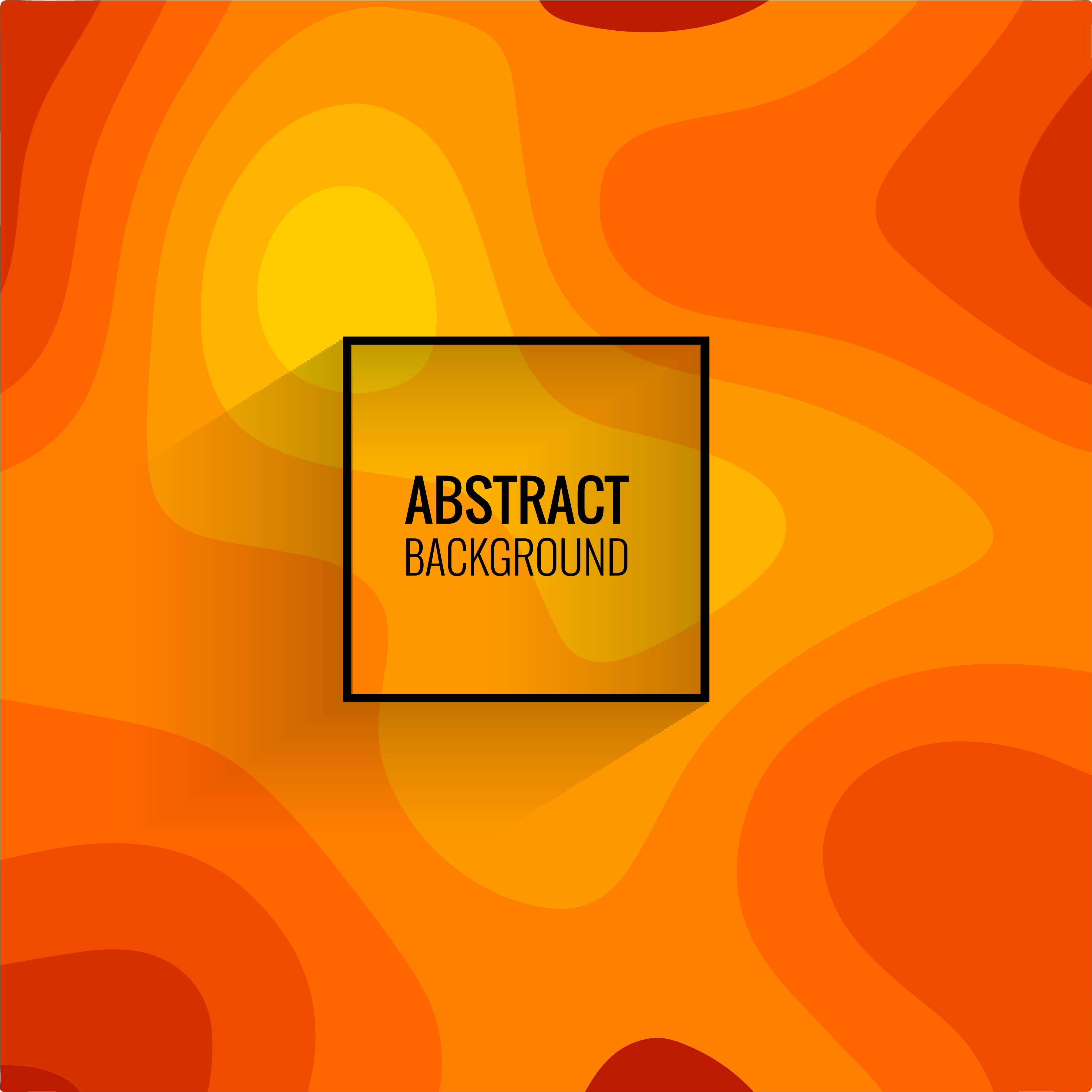 Abstract Colorful Papercut Background Vector 245048