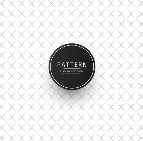 Naadloos patroon Modern modieus textuurontwerp