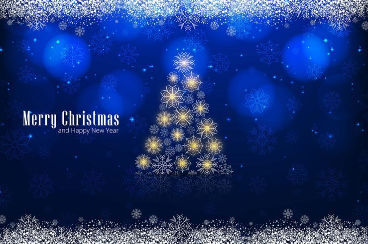Moderne kerstboom achtergrond