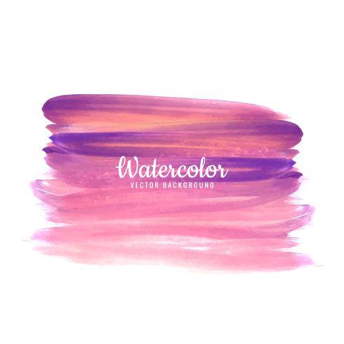 Dibujado a mano acuarela fondo colorido de pastel natural shad