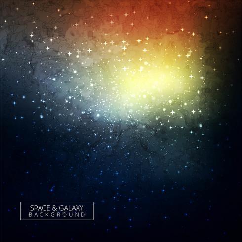 Étoiles et galaxie extérieur ciel ciel univers fond