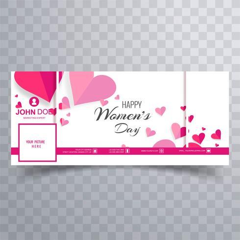 Women's day facebook banner design