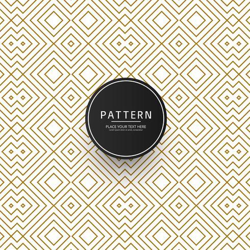 Vecteur de motif créatif géométrique moderne