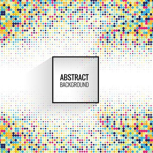 Abstrakt färgstark halvton vektor bakgrunds illustration