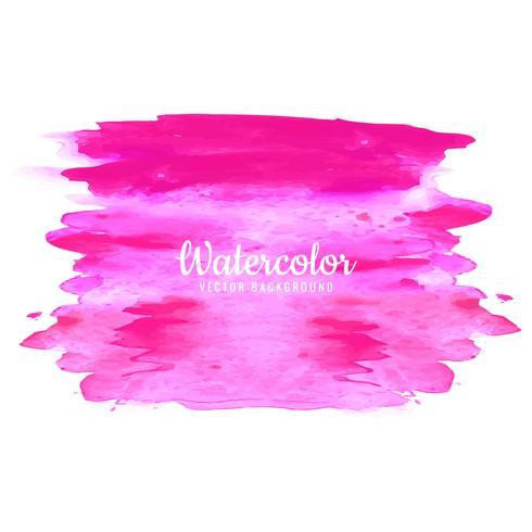 trazos de acuarela rosa sobre blanco