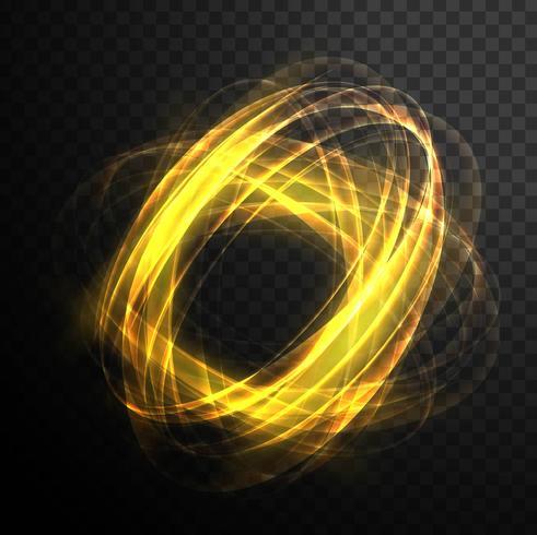 Resumo magia redemoinho brilhante efeito de luz transparente. Sh brilhante