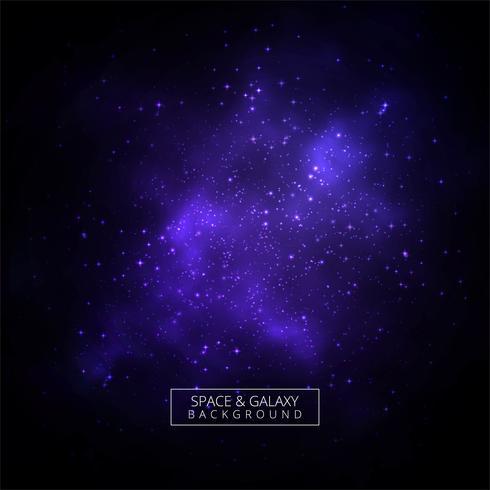 Abstrakt galax skinnande bakgrund vektor
