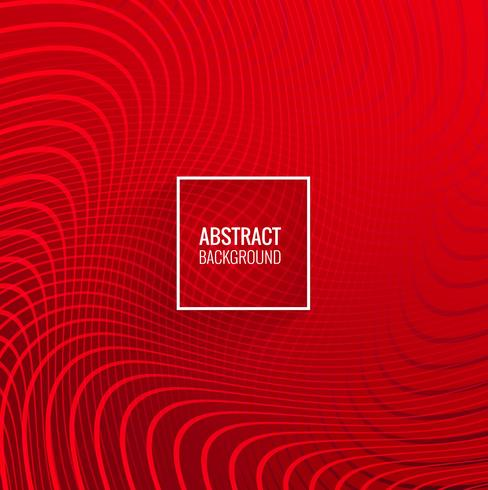 Modern red lines geometric wave background