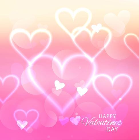 Dia dos namorados coração. Fundo de coração decorativo com muitos valent