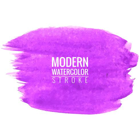 modern watercolor stroke background vector