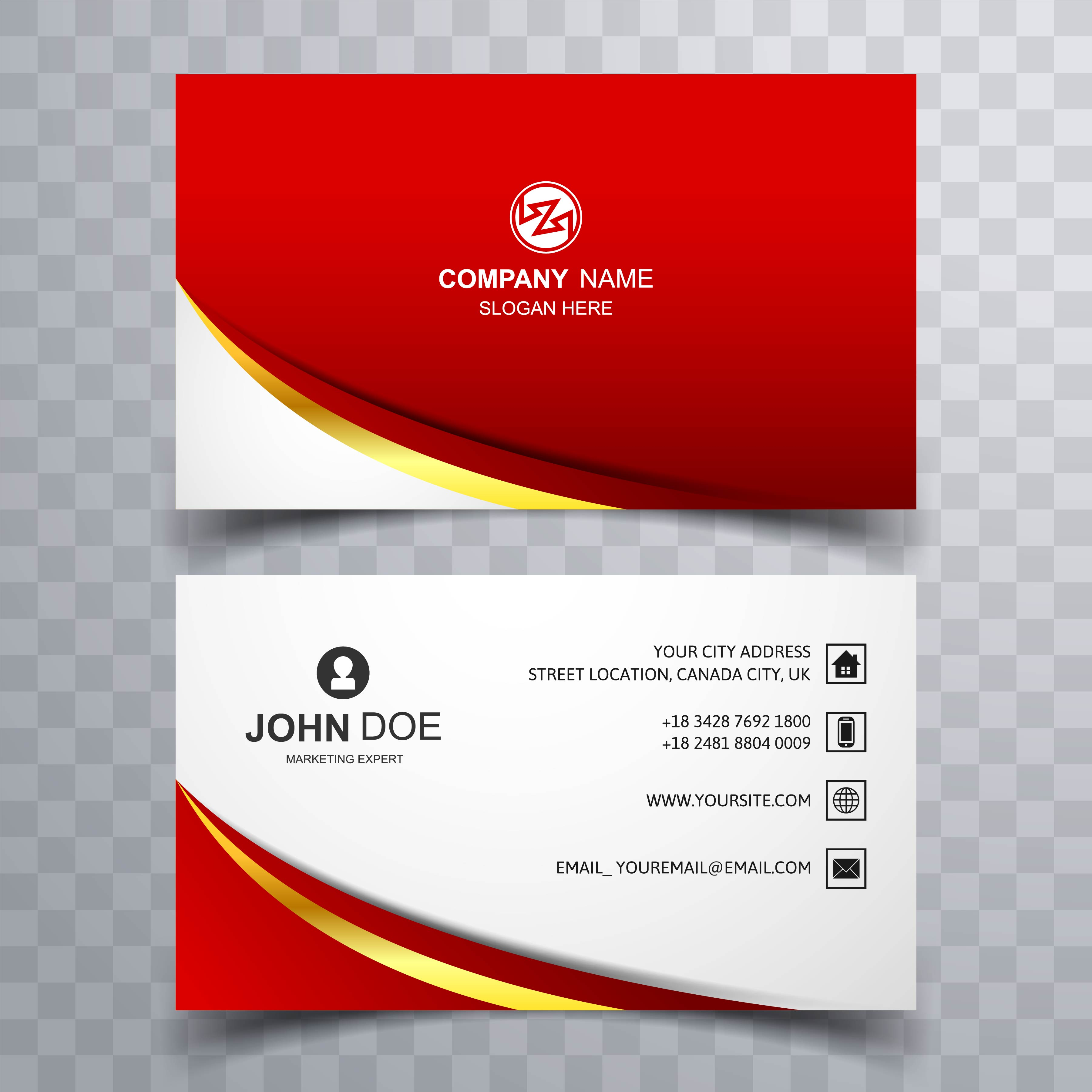 modern business card background 245394  download free