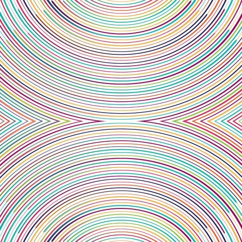 Beautiful colorful lines background illustration