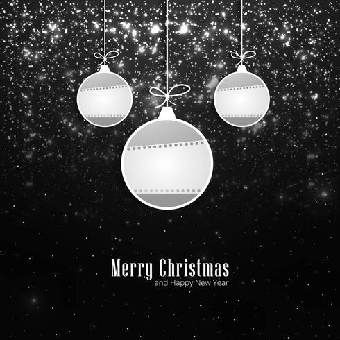 Modern shiny christmas background