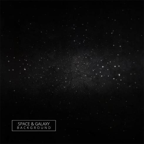 Himmel-Nachtuniversum-Designvektor der Sterne und der Galaxie Weltraum