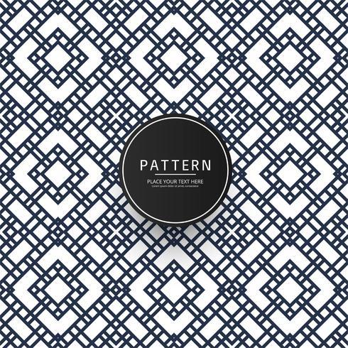 Seamless geometric pattern design illustration vector