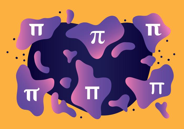Vector de simbolo de pi