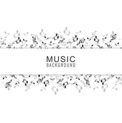 Abstrakter Musik-Hintergrund mit Anmerkungen