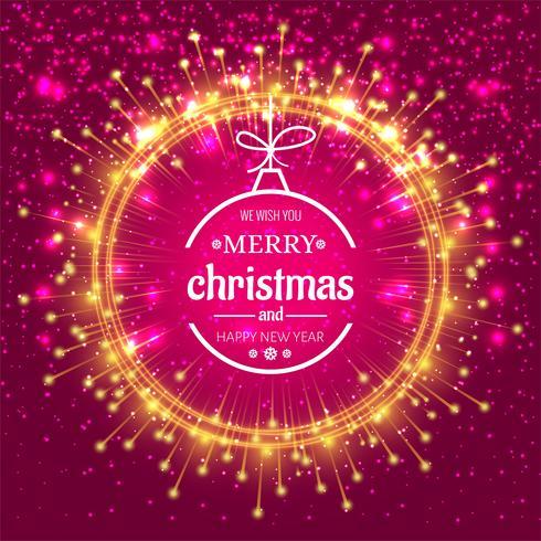 Eleganter Weihnachtsbunter Hintergrund
