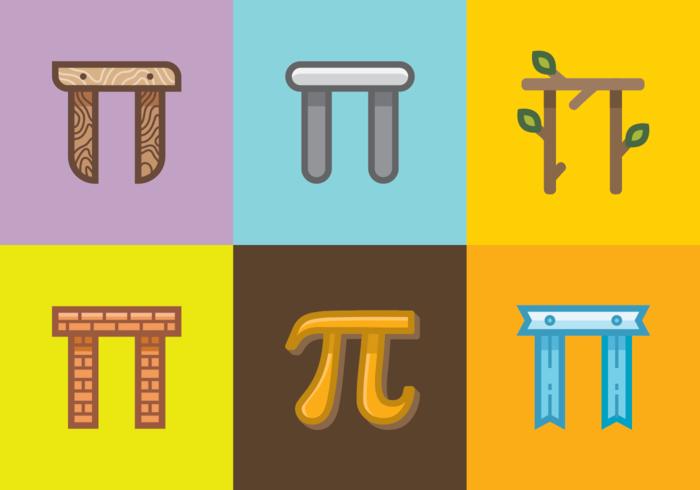 Custom Pi Symbol Vector
