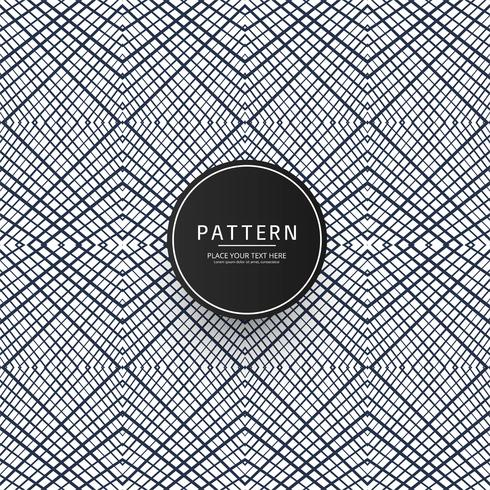 Seamless geometric creative pattern design vector