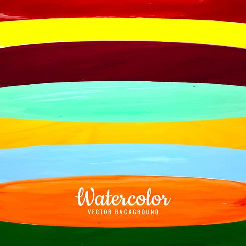 modern colorful watercolor background vector