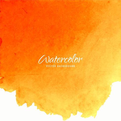 moderne oranje aquarel achtergrond