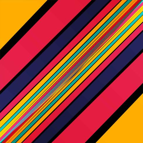 Elegant colorful lines background vector
