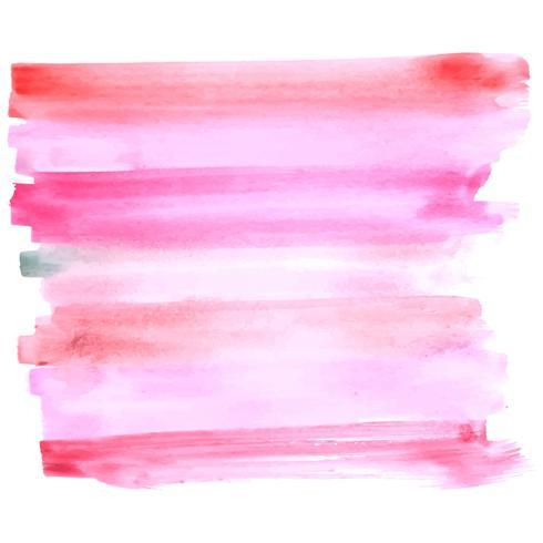 Fundo de aguarela rosa abstrata