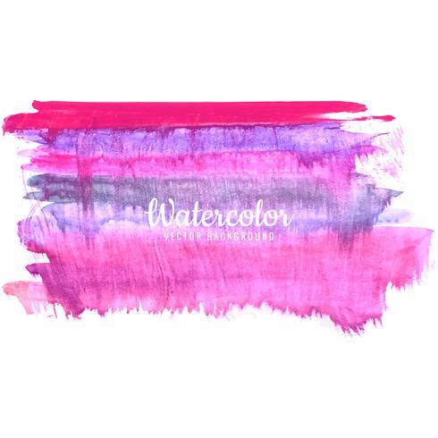traços de aquarela pintar textura de traço colorido vetor