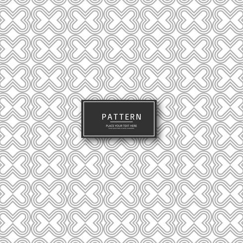Mooi stijlvol creatief patroonontwerp vector