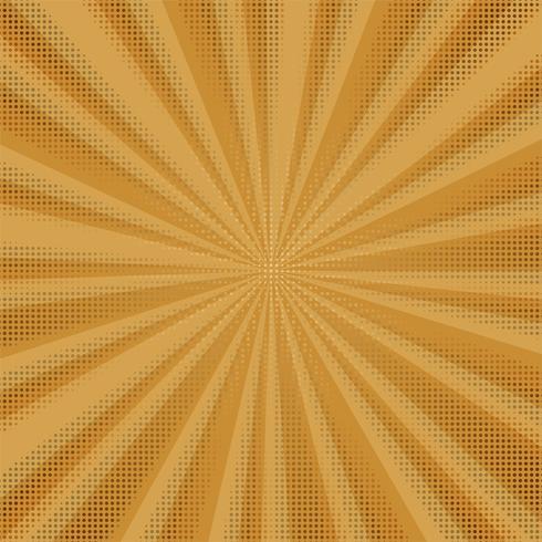 Abstrakt färgrik komisk bakgrund med prickad design
