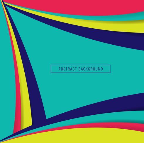 Abstracte kleurrijke papercutachtergrond