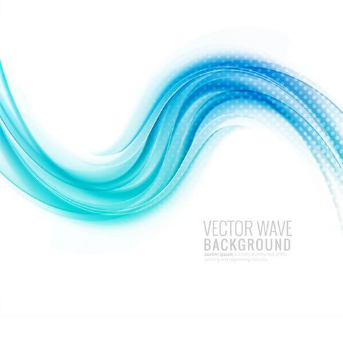 Flüssiger stilvoller blauer Wellenhintergrund