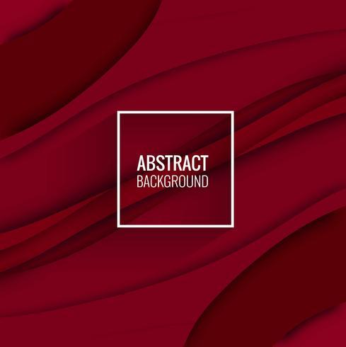 Abstracte elegante papercut achtergrondillustratievector vector