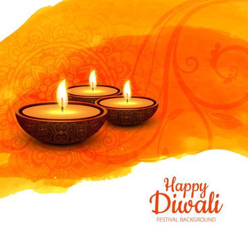 Abstrakter glänzender schöner diwali Hintergrund