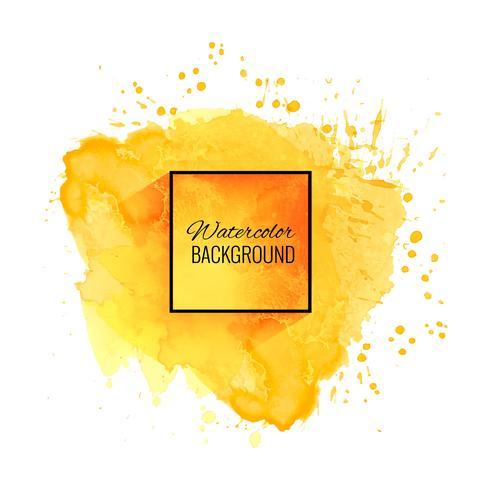 Elegant soft yellow watercolor background