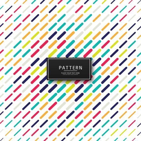 Moderne kleurrijke patroon achtergrondillustratievector