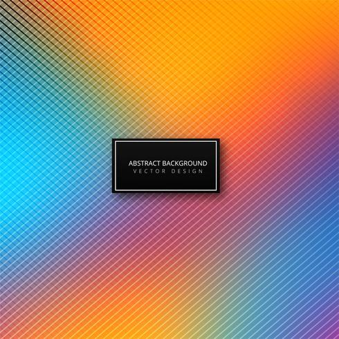 Elegant colorful lines background illustration vector
