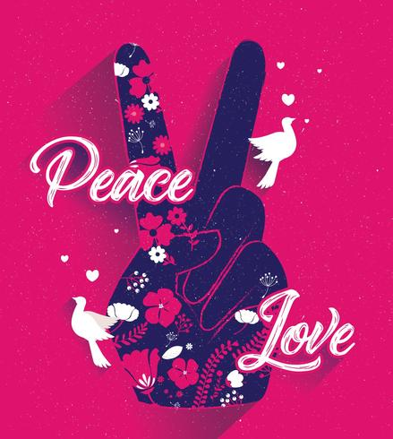 Peace and Love Vol 2 Vector