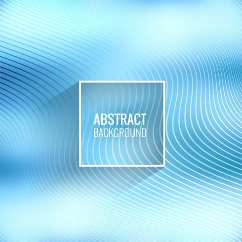 Elegante blauwe lijnenvector als achtergrond