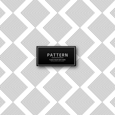 Modern triangle decorative pattern vector