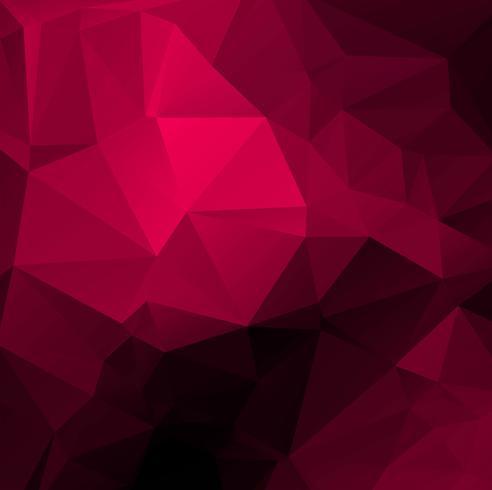 Schöner rosa Polygonhintergrund