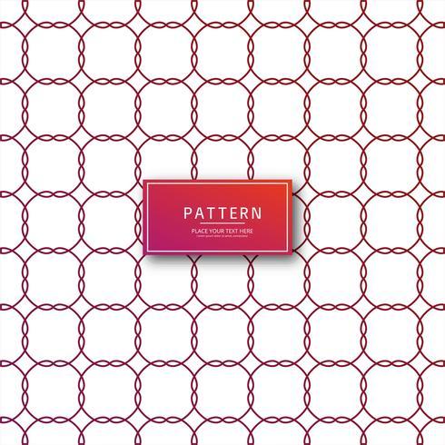 Abstrait motif géométrique rouge