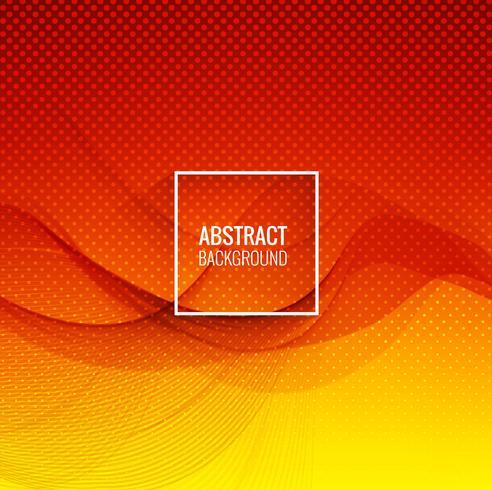 Abstrakte bunte Wellenhintergrundillustration
