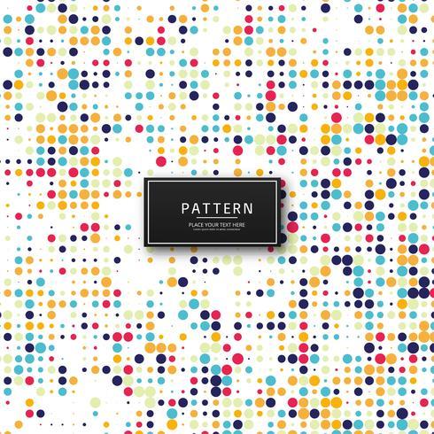 Abstracte kleurrijke van het puntenpatroon illustratie als achtergrond