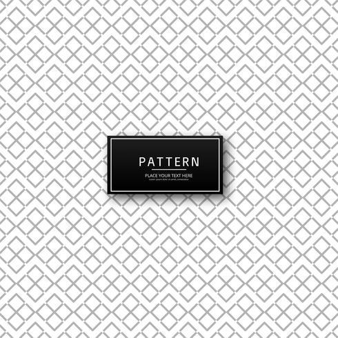 Diseño elegante sin fisuras patrón geométrico vector